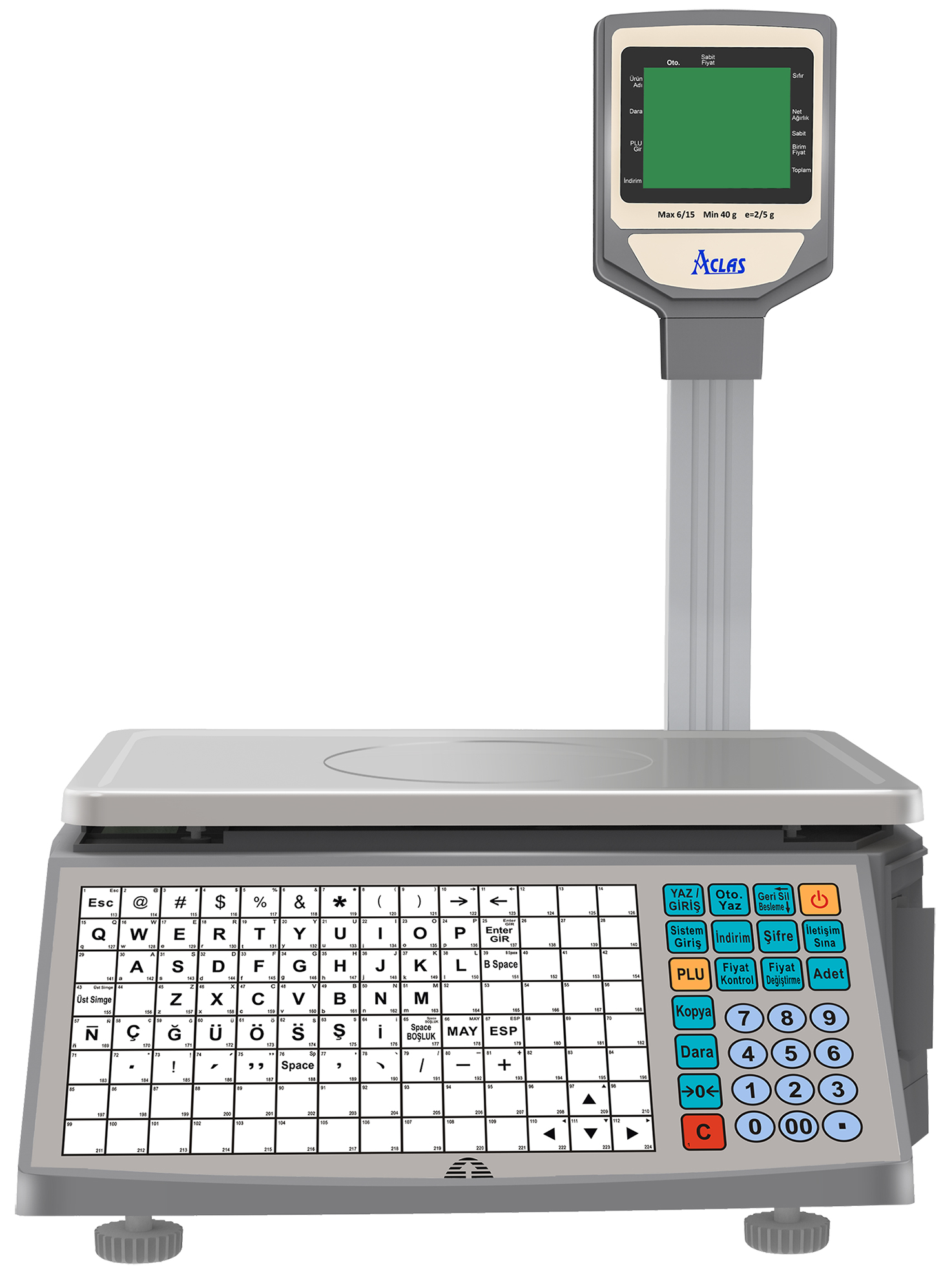 aclas ls2 scale